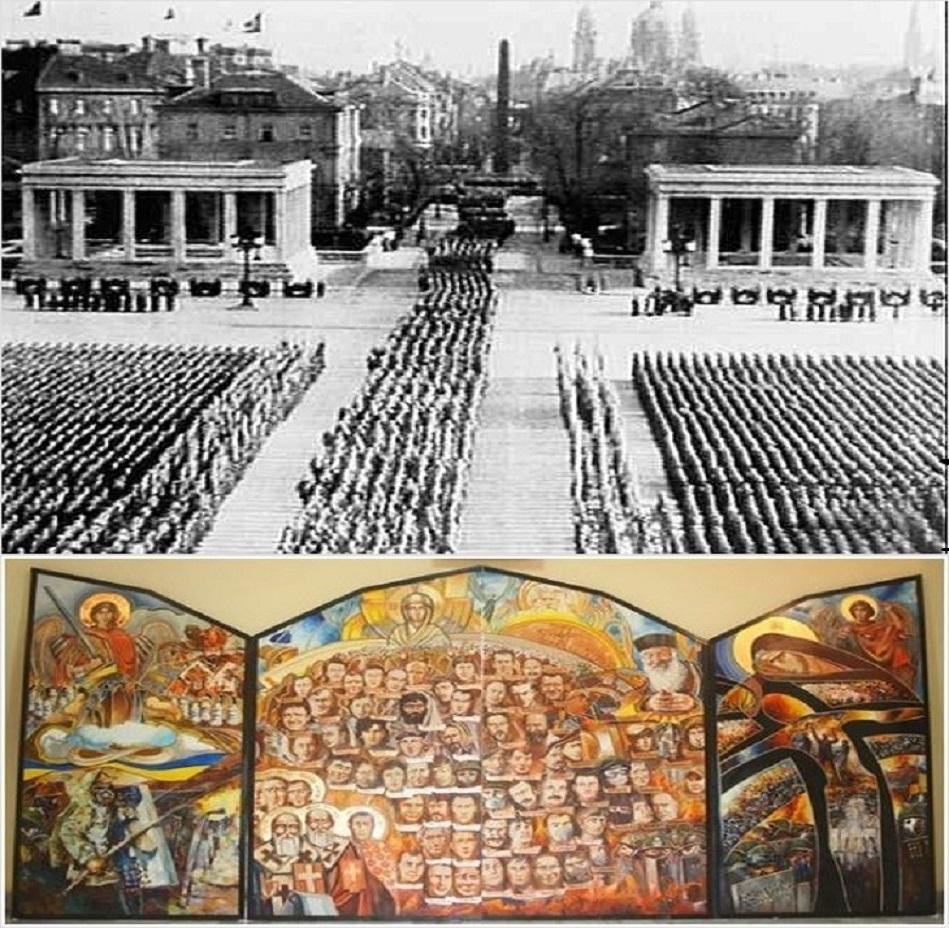 Религия, культ и сакральность жертвы-«сотни» от Третьего рейха 1933 года — до «укрорейха» 2014 года; сравнение и анализ.